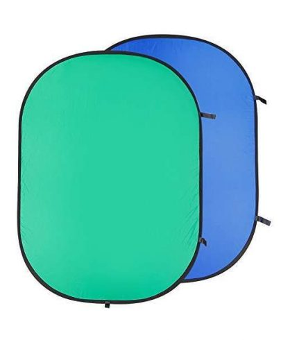 Fancier Collapsible Solid Backdrop 102*153Cm/40*60 Re2010 Blue/Green Background Materials & Equipment Cabel & Accessories