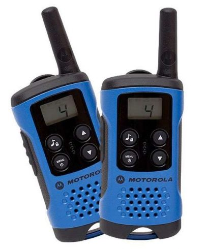 Motorola TLKR T41 Blue Walkie Talkie Radio Twin Pack