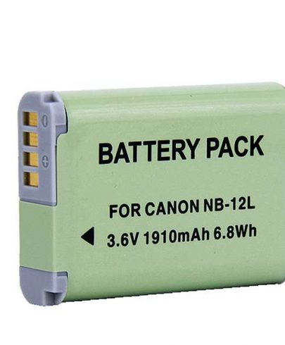 Battery For Canon Nb12l Battery And Charger Battery And Charger