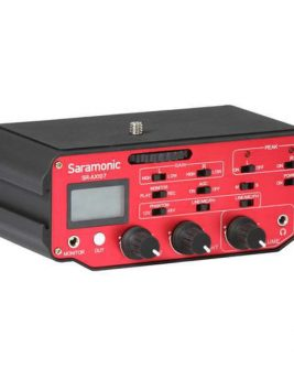 Saramonic Sr-Ax107 2-Channel Xlr Audio Adapter For Dslrs Audio audio