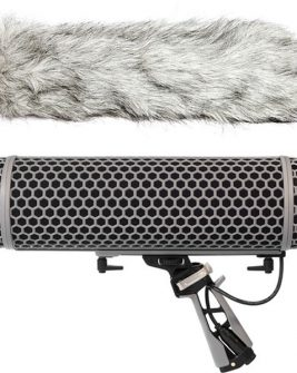 Rode Blimp Windshield and Rycote Shock Mount Suspension System for Shotgun Microphones Audio audio