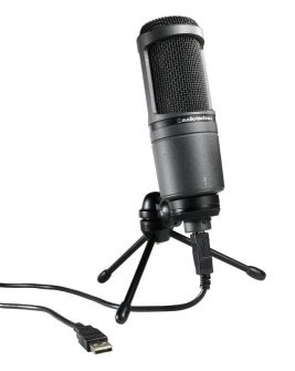 Audio-Technica AT2020USB – Condenser Microphone with USB Connection Audio audio