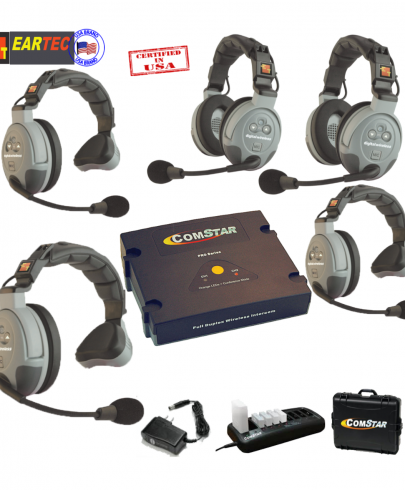 Eartec Comstar XT532  5/Pers Full Duplex System All In One Headset