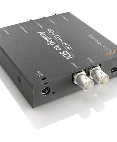 Blackmagic Mini Converter – Analog To Sdi 2 Pro Video Black Magic