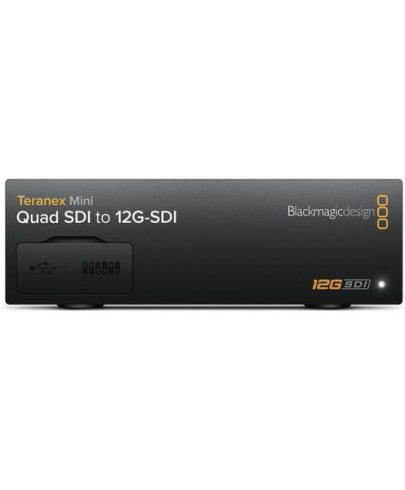 Blackmagic Design Teranex Mini Quad SDI to SDI 12G Converter CONVNTRM/DA/QDSDI Pro Video Black Magic
