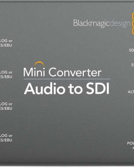 Blackmagic Design Audio to SDI Mini Converter2 CONVMCAUDS2 Audio audio