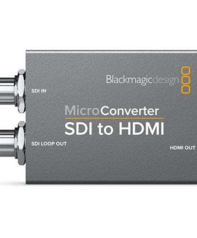 Blackmagic Design Micro Converter SDI to HDMI with Power Supply Pro Video Black Magic
