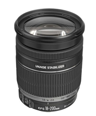 Canon EF-S 18-200mm f/3.5-5.6 IS Lens Lenses Canon