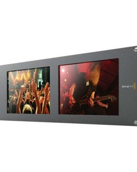 Blackmagic Design SmartView Duo Rackmountable Dual 8″ LCD Monitors Pro Video Black Magic