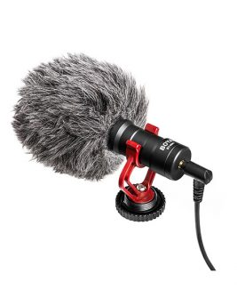 BOYA BY-MM1 Mini Cardioid Condenser Microphone Audio audio