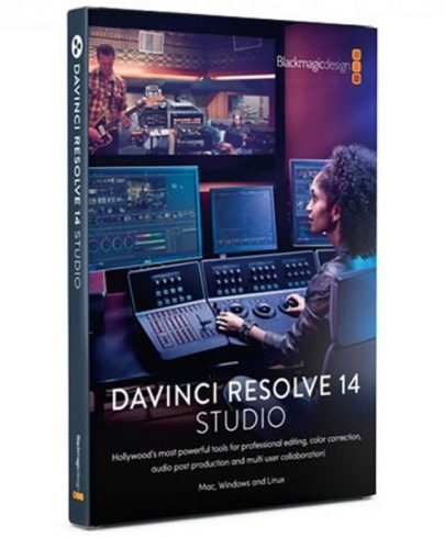 Blackmagic Design DaVinci Resolve 16 Studio (Dongle) Post Production Black Magic