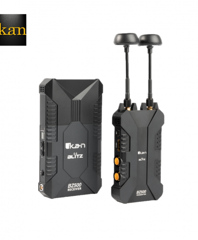 Ikan BLITZ 500 3G-SDI/HDMI WIRELESS TRANSMITTER AND RECEIVER WITH BATTERIES AND CHARGER KIT Pro Video Ikan