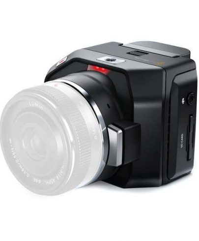 Blackmagic Design Micro Cinema Camera CINECAMMICHDMFT Digital Cine Cameras Black Magic