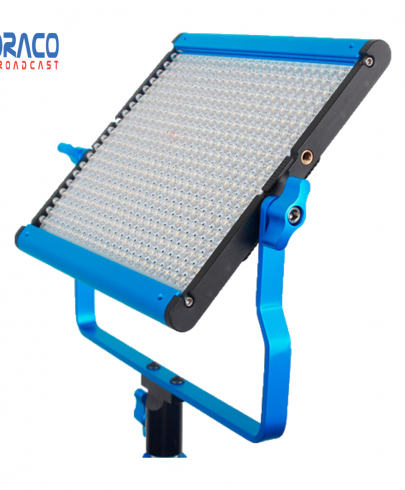 Dracast Led500 S Series Bi-Color Led Light With Dual Np-F Battery Plate Continuous Lighting Draco Broadcast