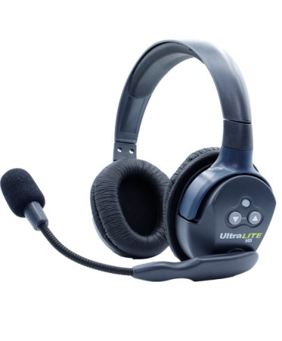 Eartec Ultralite HD  Double Master Headset  W/ Rechargable Lithium  Battery
