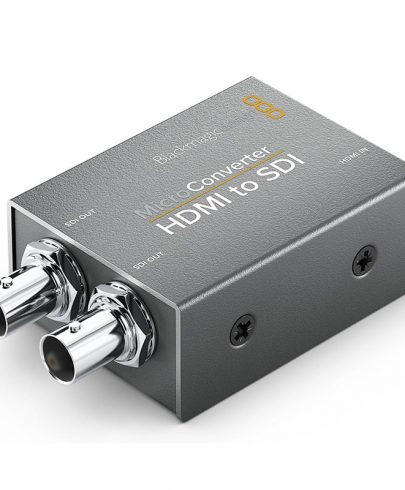 Blackmagic Design Micro Converter HDMI to SDI with Power Supply Post Production Black Magic