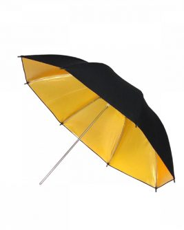 Fancier Umbrella Ur02 Black/Gold 33″ Lighting Fancier