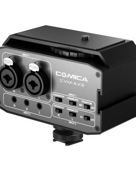 Comica Audio CVM-AX3 Dual-Channel Audio Mixer for DSLRs Audio audio