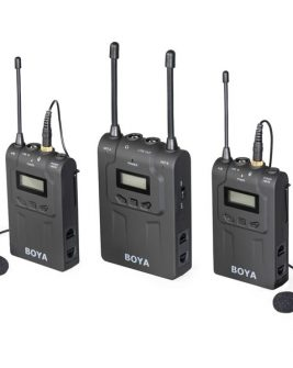 BOYA Dual-Channel Wireless Lavalier Microphone System BY-WM8-II Audio audio