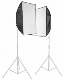 Fancier Sfl4 – 4Head Lamp With Soft Box 50X70cm With 4Pc Lamp 135W Lighting Fancier