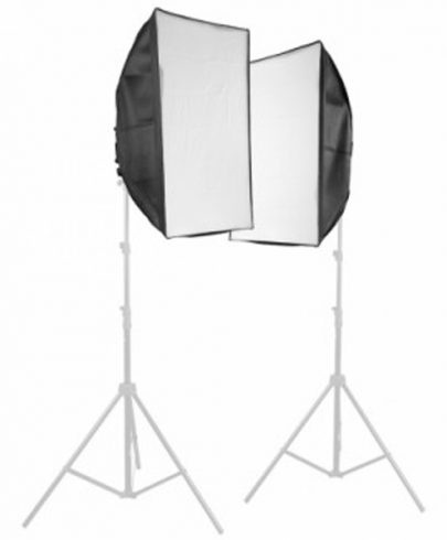 Fancier SFL4 – 4Head Lamp With Soft Box 50X70cm With 4Pc Lamp 135W Without Stand Continuous Lighting Fancier
