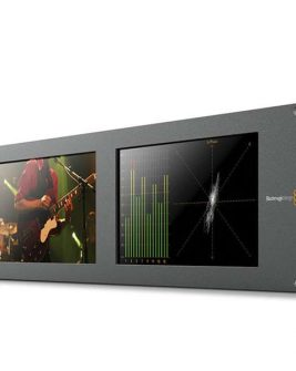 Blackmagic Design SmartScope Duo 4K Rack-Mounted Dual 6G-SDI Monitors Pro Video Black Magic