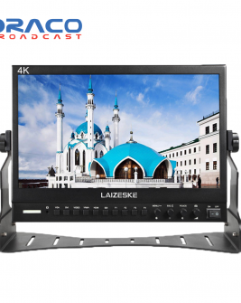 Laizeske 13.3″ Full HD IPS Multiformat Pro HDMI Broadcast LCD Monitor Pro Video Draco Broadcast