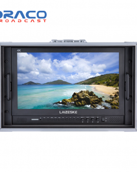 Laizeske 17.3″ Full-HD Carry-On Broadcast Director Monitor with HDMI and 3G-SDI Pro Video Draco Broadcast