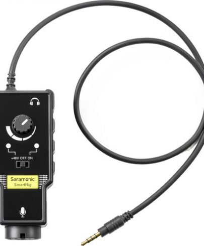 Saramonic SmartRig II XLR Mic & 1/4″ Guitar Adapter Microphones for iOS & Android Devices audio