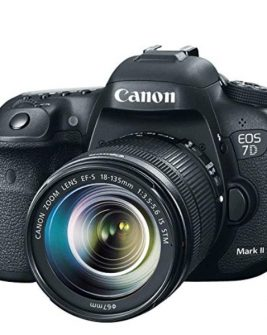 Canon EOS 7D Mark II DSLR Camera with 18-135mm f/3.5-5.6 IS USM Lens & W-E1 Wi-Fi Adapter Dslr Camera Canon