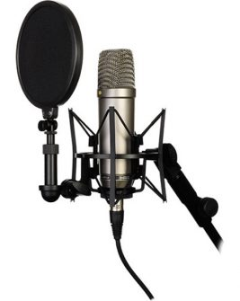 Rode NT1-A Large-Diaphragm Condenser Microphone (Single) Audio audio