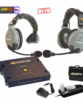 Eartec Comstar Xt211-Eu 2/Pers Full Duplex System All In One Headset Intercom Systems Eartec