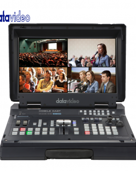 Data Video HS-1500T 4-Channel HD Baset Portable Switcher Pro Video Data Video
