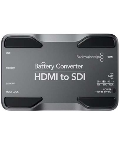Blackmagic Design Battery Converter HDMI To SDI Pro Video Black Magic