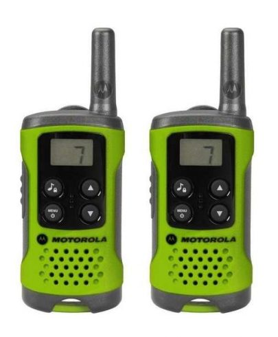 Motorola Walkie Talkies T41 Green Twin Pack
