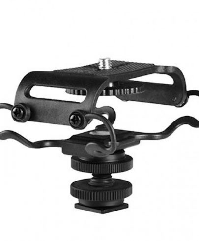 Boya Shock Mount for Camera Recorder, BOYA BY-C10 BY-C10 Universal Microphone and Portable Recorder ShockMount
