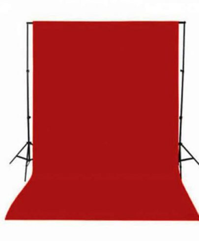 Promage Backdrop 3*6M Red COLOR Background Materials & Equipment Cabel & Accessories