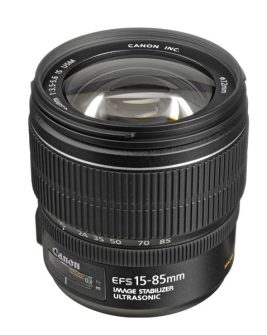 Canon EF-S 15-85mm f/3.5-5.6 IS USM Lens Digital Camera Lens Canon