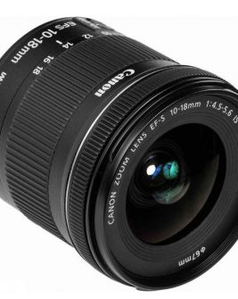 Canon EF-S 10-18mm f/4.5-5.6 IS STM Lens Digital Camera Lens Canon