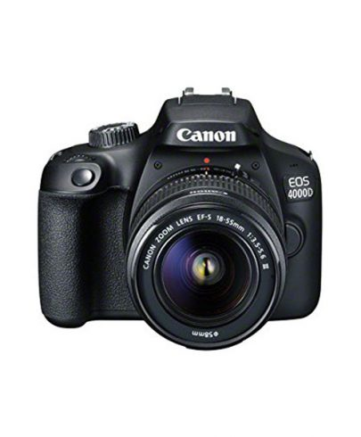 Canon Camera 4000D DSLR With 18-55mm Lens Dslr Camera Canon