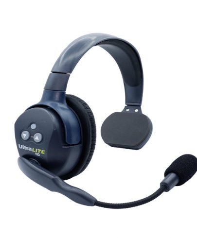 Eartec Ultralite HD Single Master Headset  W/ Rechargable Lithium  Battery