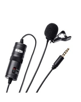 BOYA BY-M1 Omnidirectional Lavalier Microphone Audio audio
