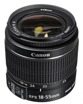 Canon EF-S 18-55mm f/3.5-5.6 IS II Lens Digital Camera Lens Canon