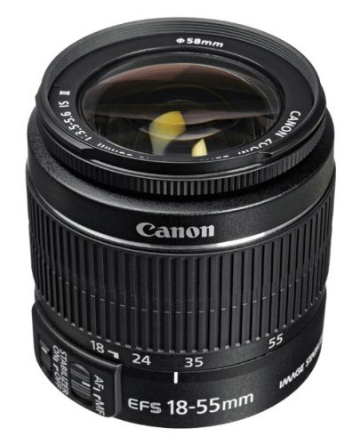 Canon EF-S 18-55mm f/3.5-5.6 IS II Lens Lenses Canon