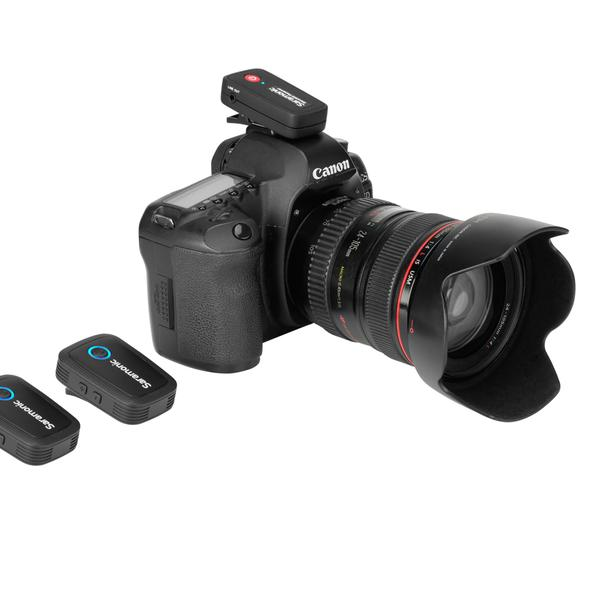 Blink 500 B2 Ultracompact 2-Person Wireless Clip-On Mic System With Lavaliers & Dual Receiver Audio audio