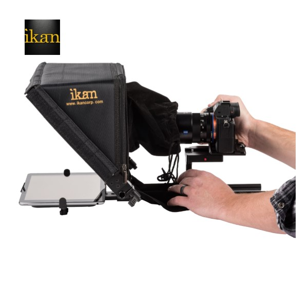 Ikan ELITE UNIVERSAL TABLET & IPAD TELEPROMPTER W/ ELITE REMOTE Pro Video Ikan