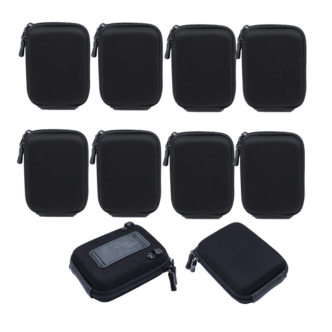 Solibag Carry Case -5001 Hardcase Pure Black L (With Shoulder Strap And Belt Loop) Suitable For Example Cybershot Dsc Hx60 Hx90 – Coolpix S9900 W100 W150 – Lumix Dmc Tz70 Tz80 – Powershot Sx710 Sx720 Pack Of 10Pcs Camcorder & Camera Accessories Camera Bags