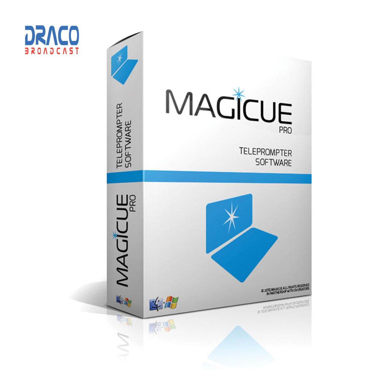 Magicue Pro Software for Studio & Presidential Prompters – Mac Version Pro Video All Accessories & Cable