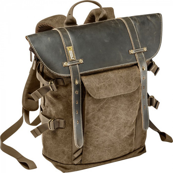 National Geographic Africa Camera Backpack M For Dslr/Csc (Brown) Camera Bags Camera Bags