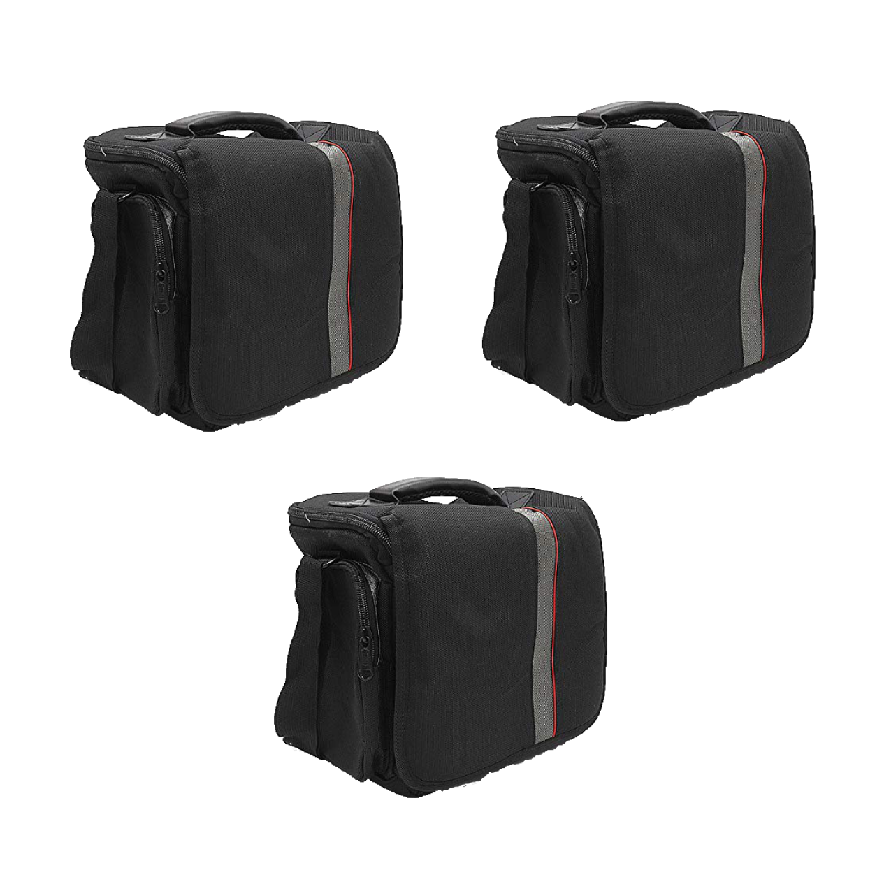 Waterproof Anti-Shock Dslr Camera Bag For Canon, Nikon, Samsung, And Sony Camera Bag -9003 Pack Of 3Pcs Camera Bags Camera Bags